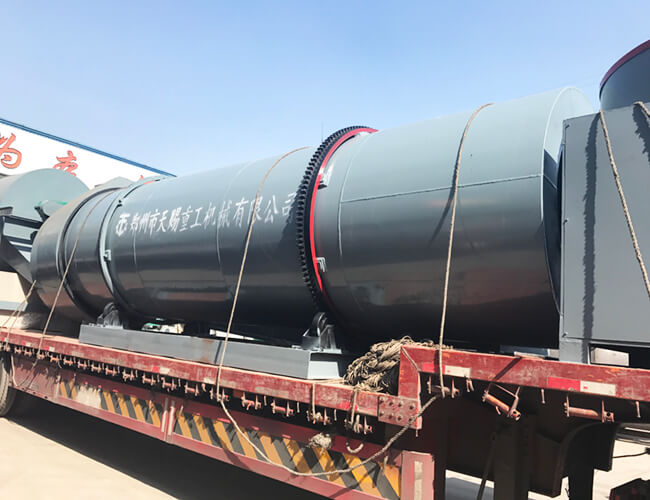 Agricultural Fertilizer Drying Machine Rotary Drum Dryer ISO / SGS / BV Approval