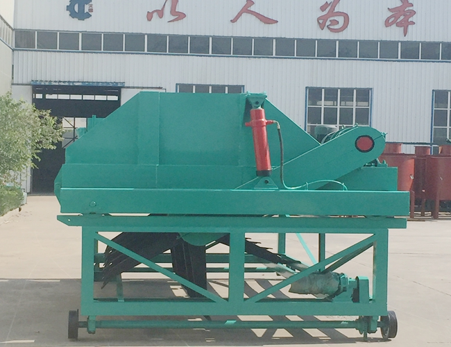 Organic Fertilizer Self - Propelled Compost Turning Equipment for River Silt Reuse