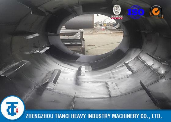 China Agricultural Fertilizer Drying Machine Rotary Drum Dryer ISO / SGS / BV Approval supplier