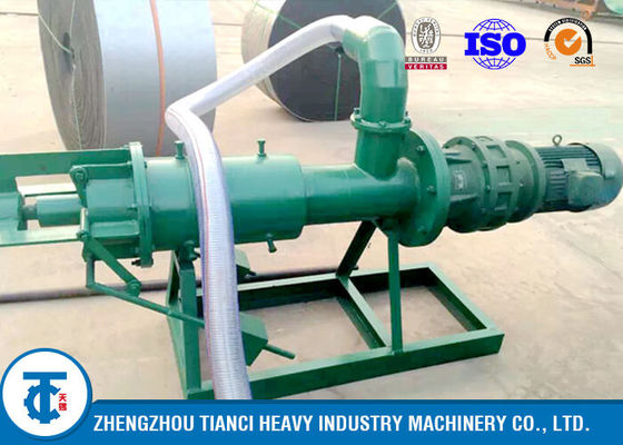Carbon Steel 9 - 10T/H Capacity Dewatering Machine for Fertilizer Making