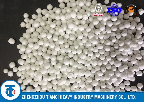 China Ball Shape NPK Fertilizer Plant , One Year Guaranteed NPK Granulation Plant supplier