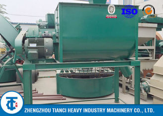 China Farmer Use Organic Fertilizer Mixer Horizontal Mixing Type Continuously Operated supplier