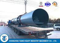Large Handling Capacity Poultry Manure Dryer / Rotary Drum Dryer Machine