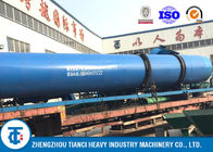 Customized Dimension SS Rotary Fertilizer Dryer , Poultry Manure Drying Machine