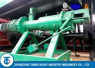 China 7.5kw Powered Cow Manure Dewatering Machine , Continuous Operation Solid Liquid Separator factory