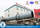 Carbon Steel Rotary Drum Cooler , High Heat Exchange Rate Fertilizer Cooling Machine