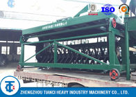 China Self - Moving Type Compost Turner Machine 10 - 15T/H Capacity Fruit Waste Use factory