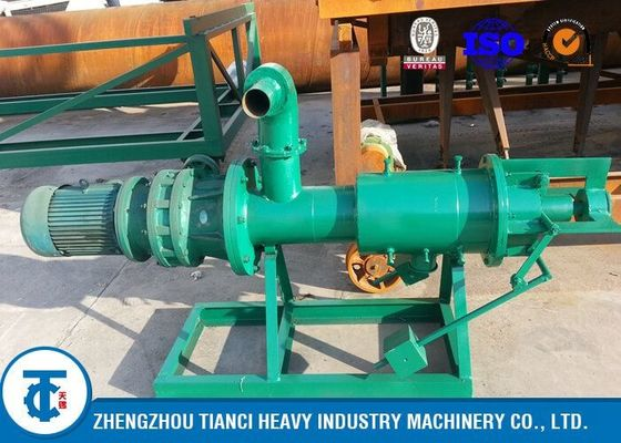 China Farm Poultry Manure Dewatering Screw Press Machine ISO / BV / SGS Certificated distributor