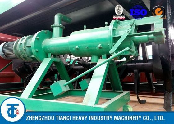 China 7.5kw Powered Cow Manure Dewatering Machine , Continuous Operation Solid Liquid Separator distributor