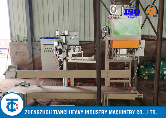 China NPK Granules Fertilizer Packaging Machine , Small Factory 1 - 2T/H Fertilizer Bagging Equipment distributor