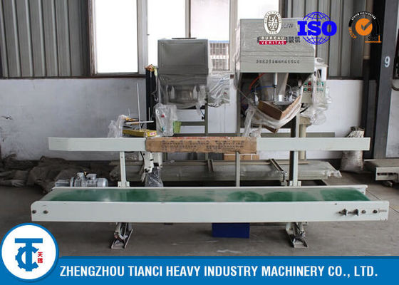 China MAP Fertilizer Auto Packing Machine Green Color with Accurate Electronic Scale distributor