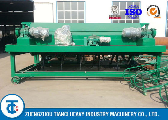 China Cow Dung Commercial Compost Turner Green Color Manual / Automatic Controlled distributor
