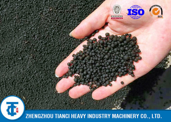 China New Type Organic and Compound Fertilizer Combination Production Line With 4-5t/h distributor