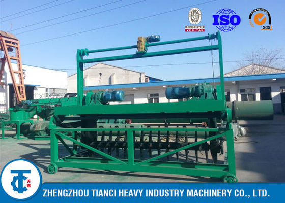 China High Efficiency Compost Turner Machine Low - Impact Loading Start for Animal Waste distributor