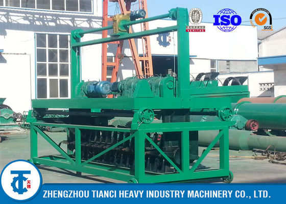 China Large Capacity Organic Windrow Turning Machine , Chicken Manure Compost Windrow Turner distributor