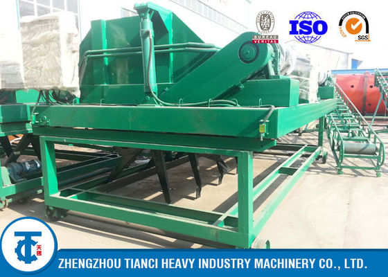China Civil Waste Compost Turner Machine BV / SGS / ISO Approved for Air Pollution Reduction distributor