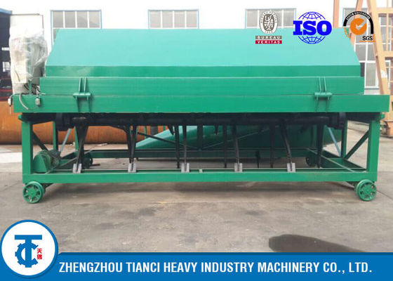 China 8 - 10 Ton / Hour Compost Turner Machine Restaurant Waste Recycling Usage distributor