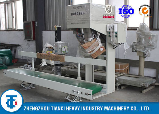China 500 Bags Per Hour Fertilizer Granules Pouch Packaging Machine Carbon Steel Material distributor