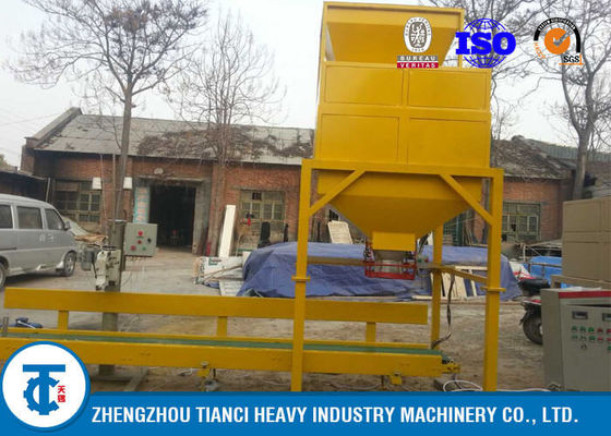 China Pellets Production Line Fertilizer Packaging Machine,  Gray Color Fertilizer Bagger distributor