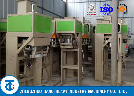 China Powder / Granules Fertilizer Packaging Machine , Automatic Weighing And Bagging Machine factory