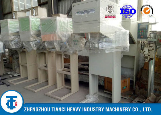 China Nut / Flour Carbon Steel Automatic Packing Machine 600 - 800 Bags Per Hour factory