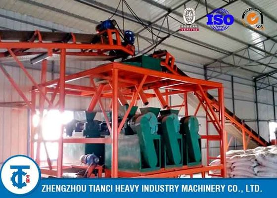 China Fertilizer Granule Making Machines , Demanded  Voltage Fertilizer Manufacturing Plant distributor