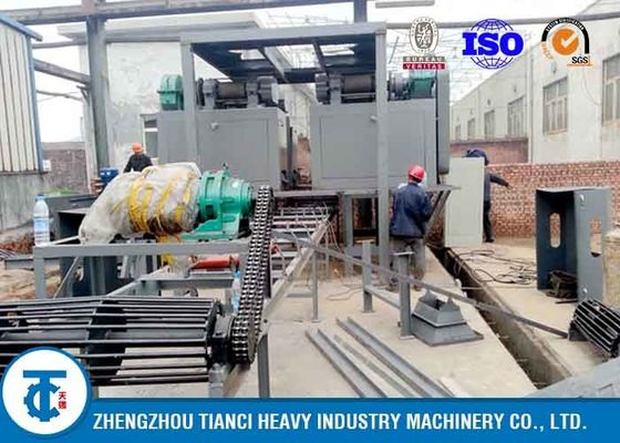 China Compound Fertilizer Production Plant , Low Power Consumption NPK Production Line factory