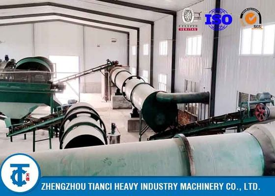 China Chicken Pig Manure Organic Fertilizer Granulator Production Line factory