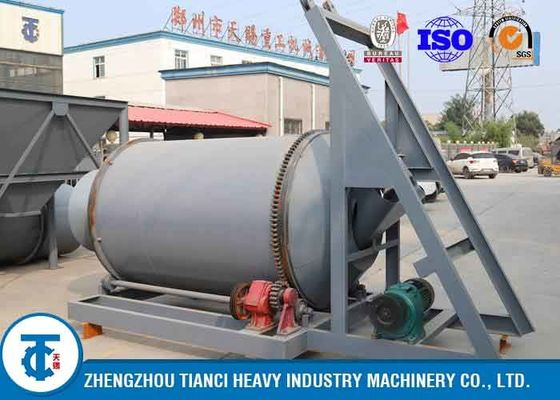 China Semi Automatic Compound Fertilizer Production Line / 5-20t/H Fertilizer Production Plant distributor